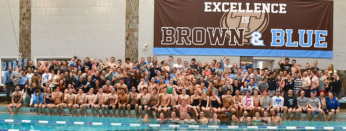 Tufts swim team
