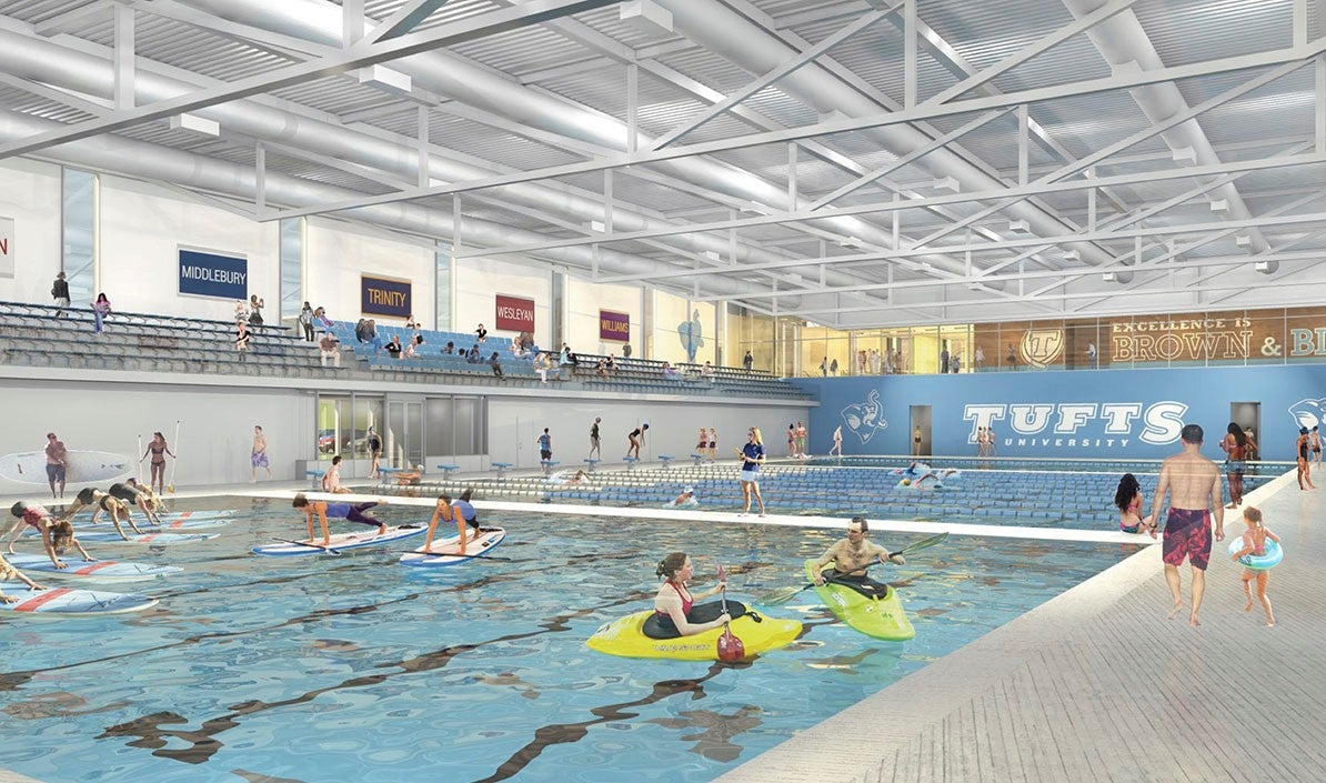 Tufts Aquatic Center - Community use