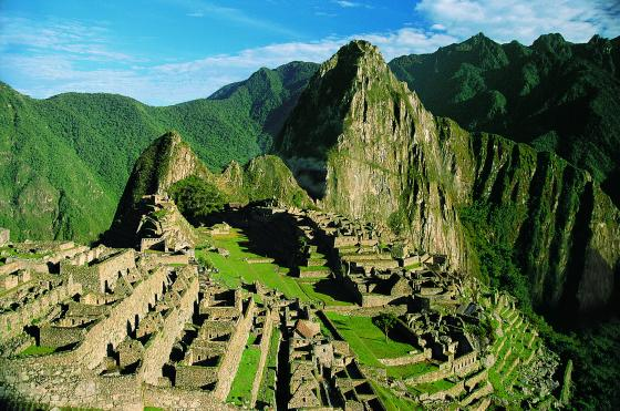 Machu Picchu Citadel Mountain View
