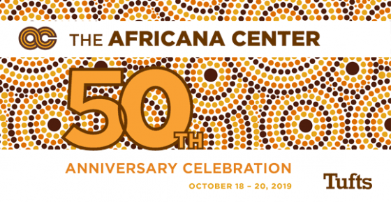 Graphic for Africana Center 50th Anniversary