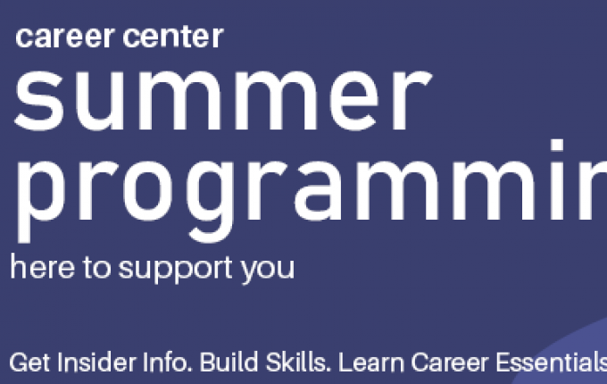 Summer Career Series for Recent Grads
