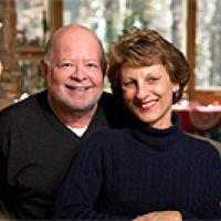Barry Rosenbaum and wife portait